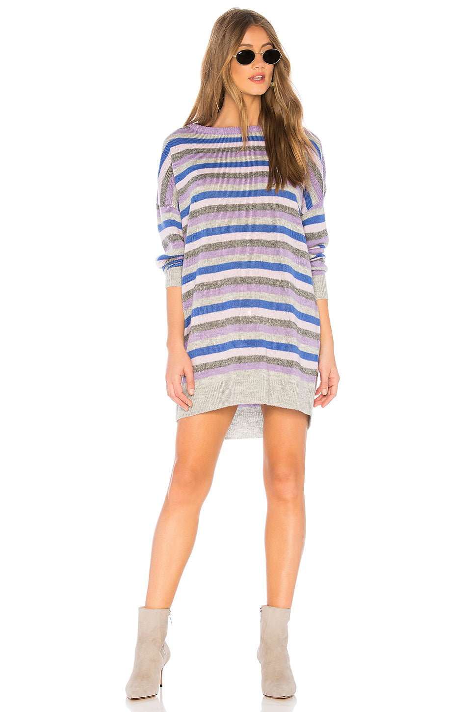 9dc70f17c8d Hamptons Dress in Lavender Stripe – TULAROSA
