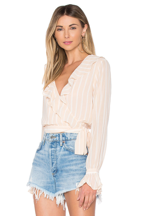 Holly Wrap Blouse