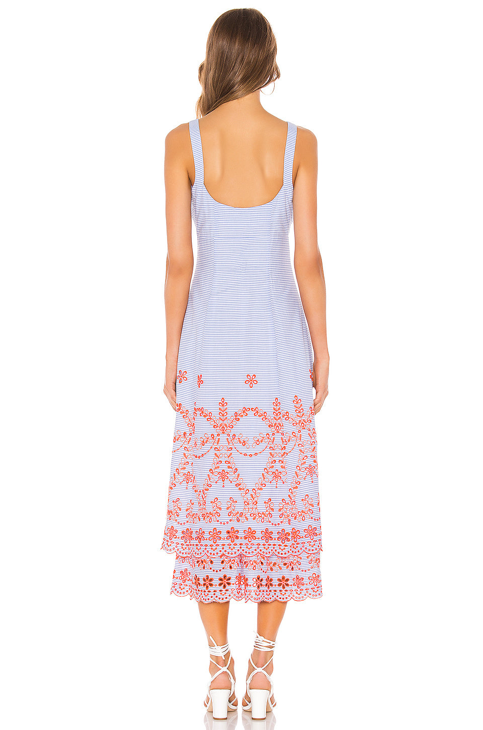 Jaslyn Embroidered Dress