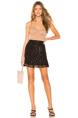 Flora Polka Dot Skirt