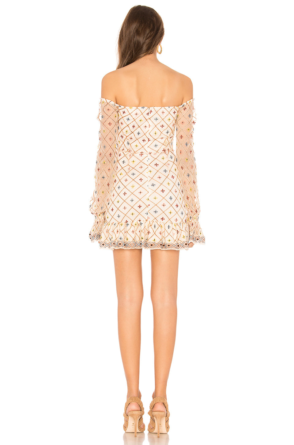 Kassandra Embroidered Dress