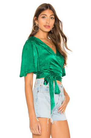 Kelly Wrap Top