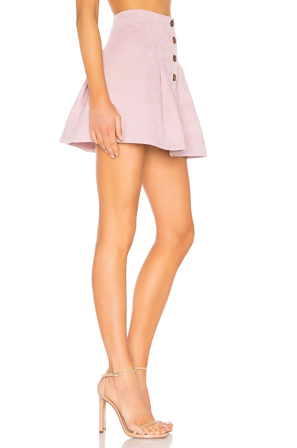 Kendall Button Front Skirt