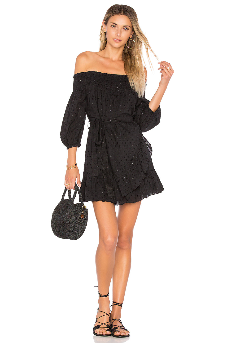 Maida Ruffle Dress