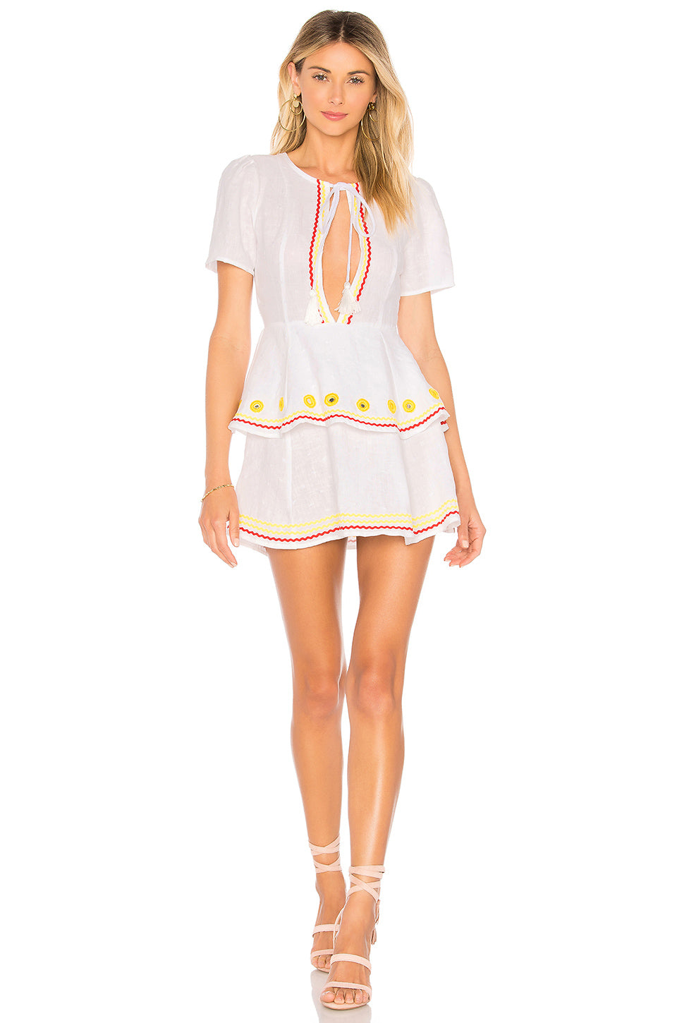 Mattie Dress in White. - size S (also in L,M) Tularosa