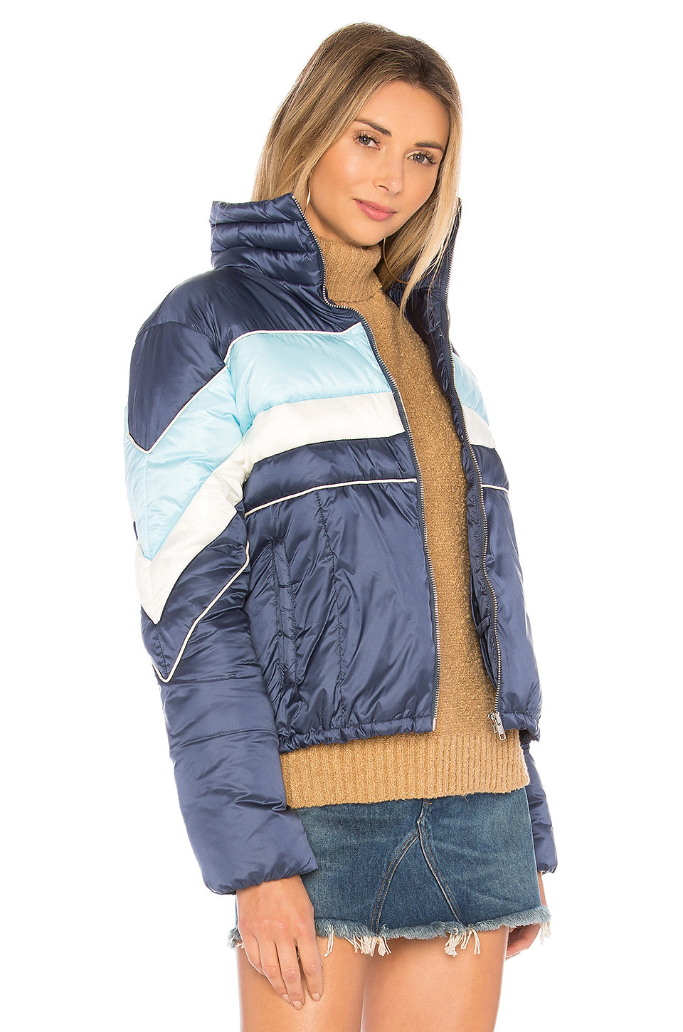 Phillips Striped Puffer Jacket