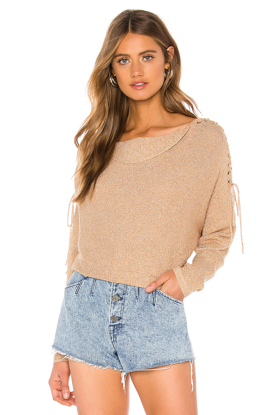 269ee393d4c Rosenthal Sweater in Gold – TULAROSA