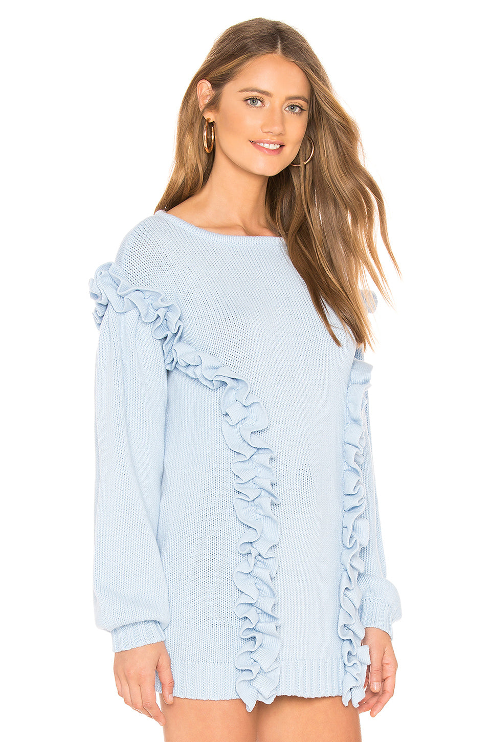 Ruffle Sweater