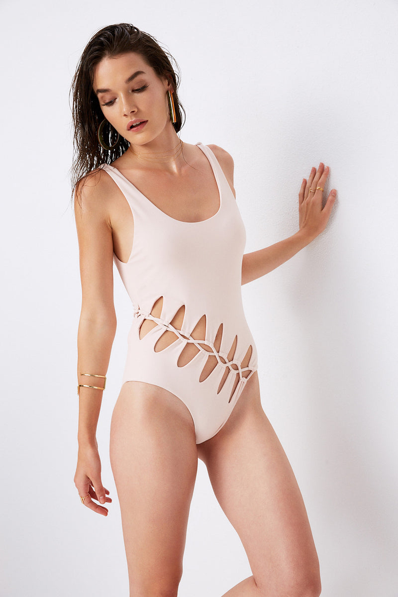 Saffron One-Piece Swimsuit