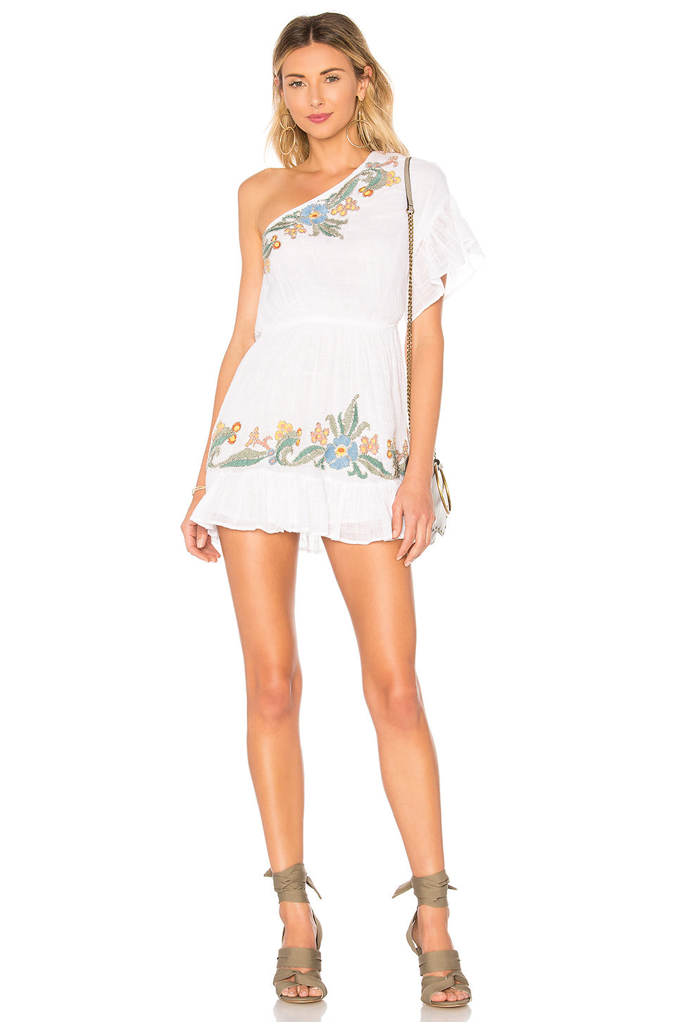 Salas Dress in White. - size S (also in L,M,XS) Tularosa