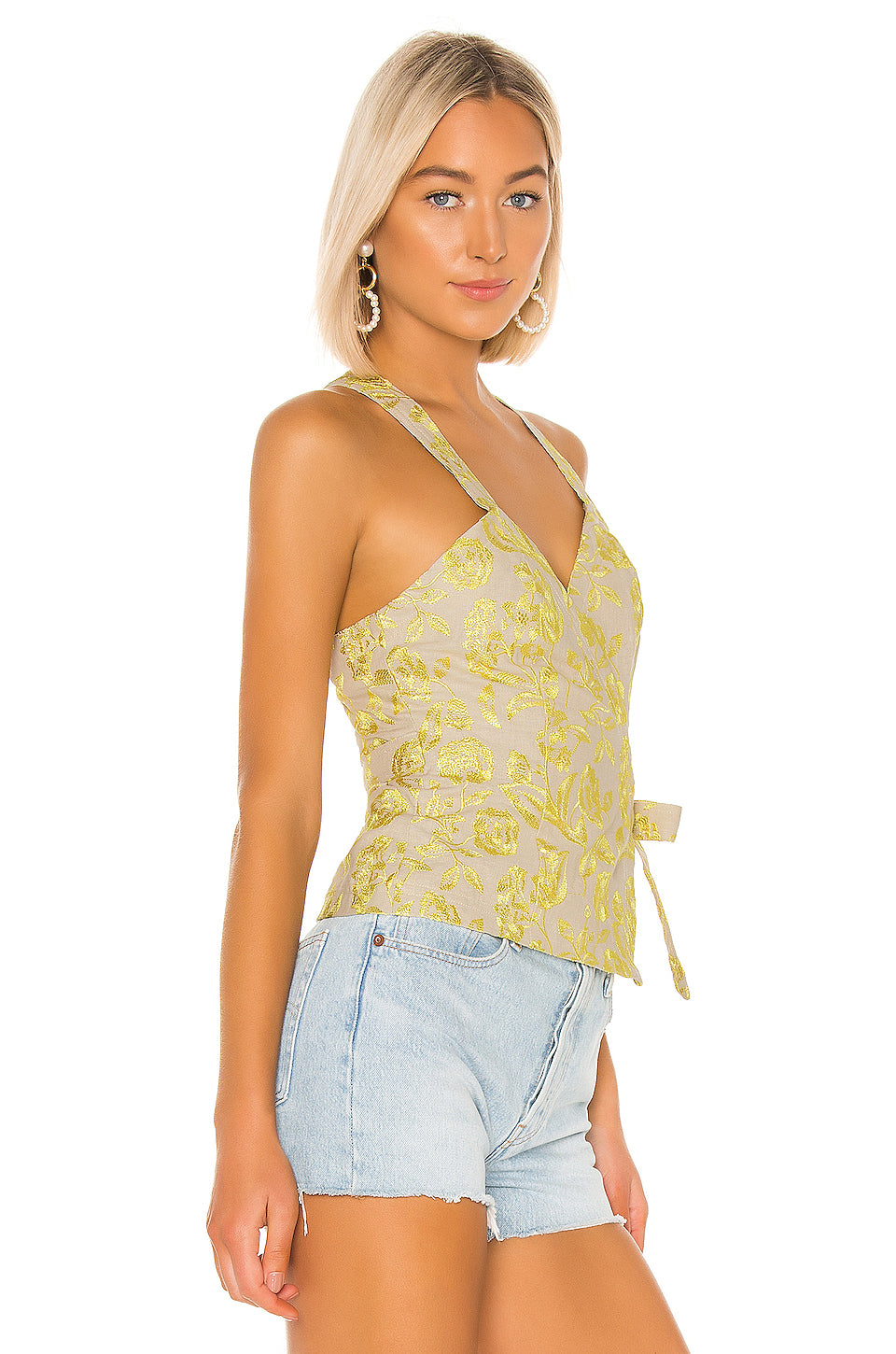 Sonora Embroidered Top