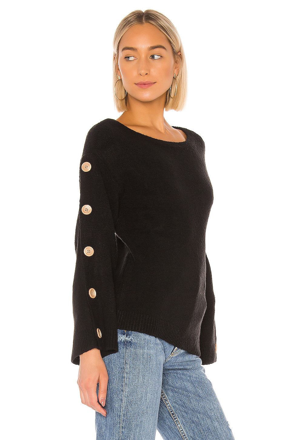 Trento Button Sweater