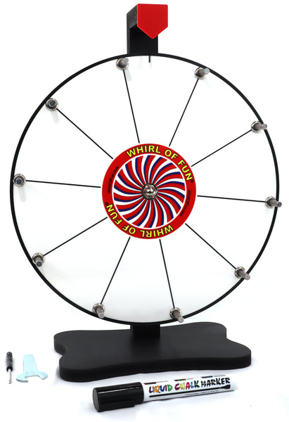 Prize Wheel 12-inch Table Top - White Version