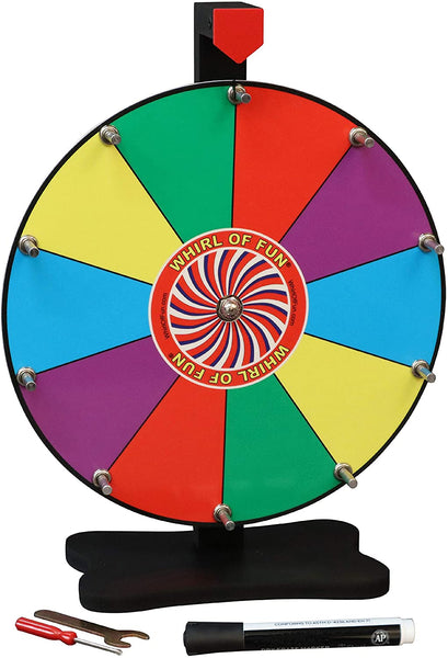 Prize Wheel 12-inch Table Top - Original Color
