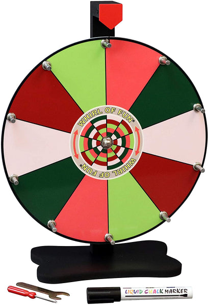 Prize Wheel 12-inch Table Top - Summer Fruit Color