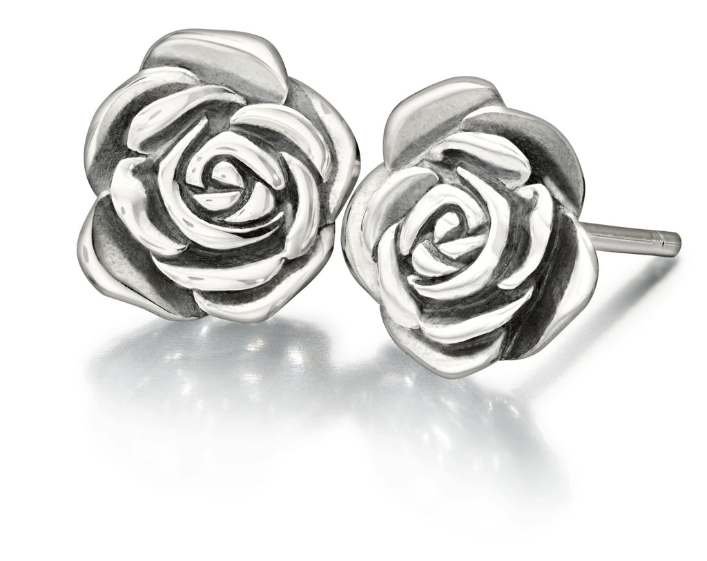 A Rose Is A Rose Earrings - 1310-0011