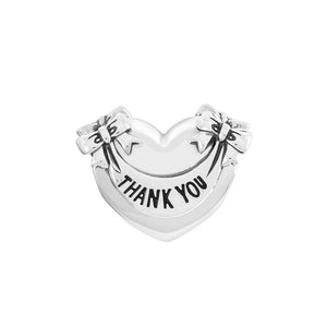 Thank You Heart Charm -  2010-3608