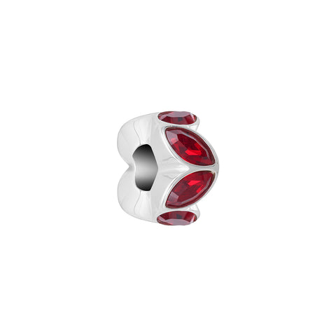 Reflections Crystal Accent, Scarlet - 2025-2531