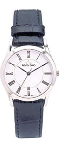 Roven Dino Monaco Mens White Dial Swiss Quartz Watch 2022MSB15