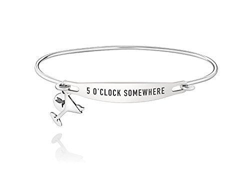 ID Bangle - FIVE O'CLOCK SOMEWHERE, M/L - 1010-0251