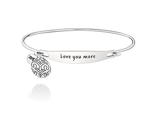 ID Bangle - LOVE YOU MORE, S/M - 1010-0244