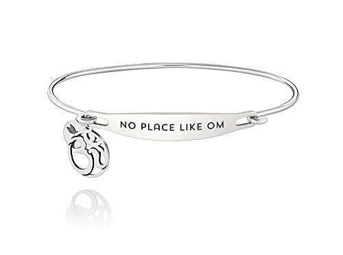 ID Bangle - NO PLACE LIKE OM, S/M - 1010-0214