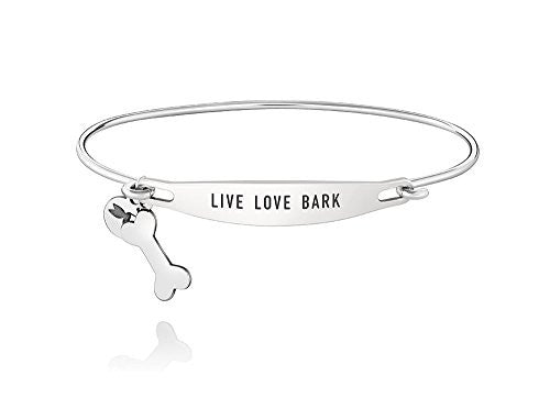 ID Bangle - LIVE LOVE BARK, M/L - 1010-0255