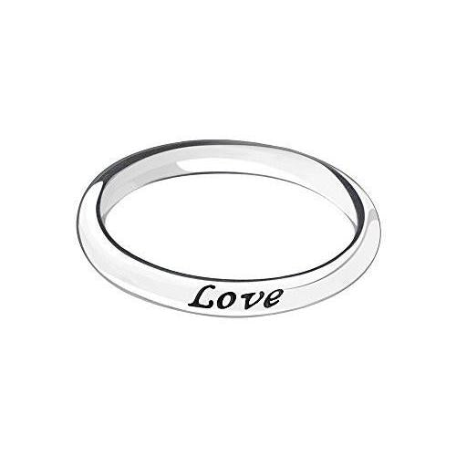 Ring - Live, Laugh, Love, Size 8 - 1110-0161
