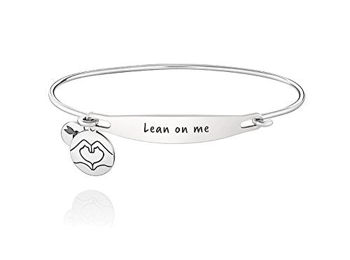 ID Bangle - LEAN ON ME, S/M - 1010-0228