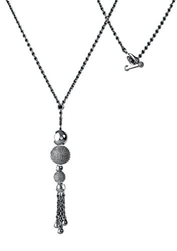 Ula Silver Maxi Drop Necklace - DN052