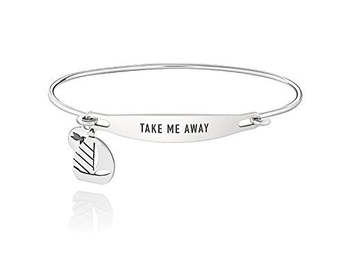 ID Bangle - TAKE ME AWAY, S/M - 1010-0246