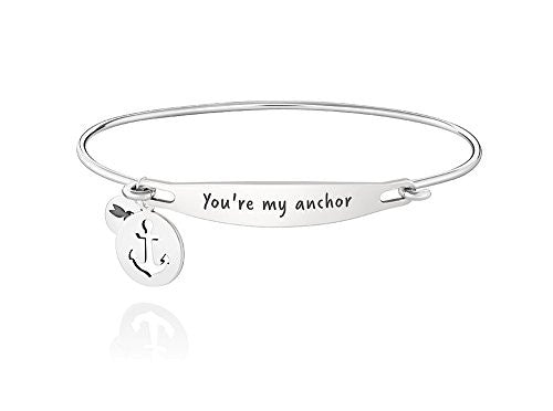 ID Bangle - YOU'RE MY ANCHOR, S/M - 1010-0230