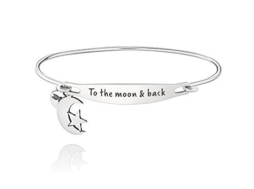 ID Bangle - TO THE MOON AND BACK, S/M - 1010-0240