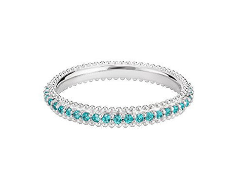 Ring - Eternity Mint, Size 8 - 1125-0401