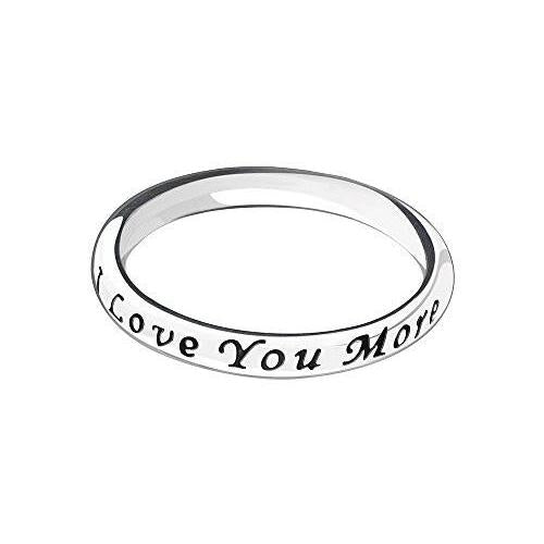Ring - Love You, Love You More, Size 7 - 1110-0154
