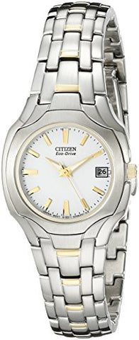 Citizen Women's EW1254-53A Eco-Drive Two-Tone Watch