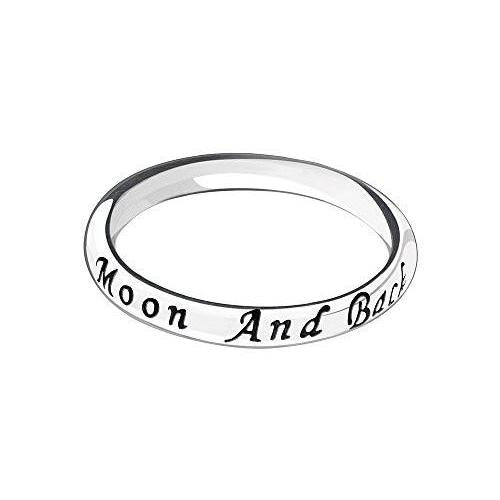 Ring - Love You To The Moon And Back, Size 8 - 1110-0158