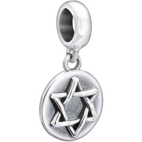 Authentic Chamilia Sterling Silver Soul Charm Shalom 2010-3151