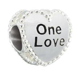 One Love Candy Hearts Charm - 2020-0788