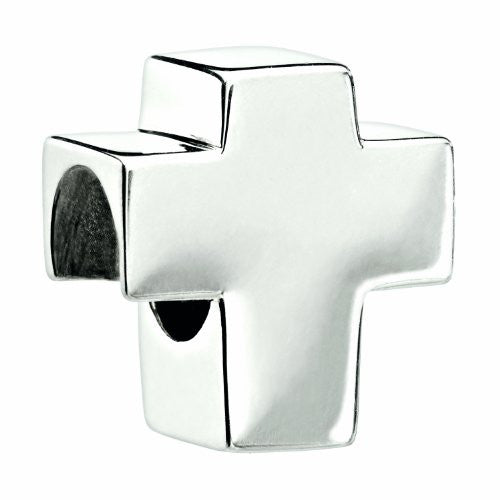 Authentic Chamilia Sterling Silver Charm Holy Cross 2010-3029