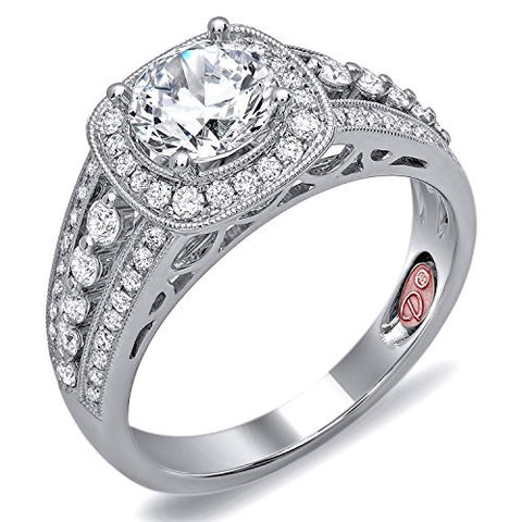 Demarco Eternal Devotion Collection DW6113 18 Kt White Gold Ring w/ 0.55 Carats of Diamonds