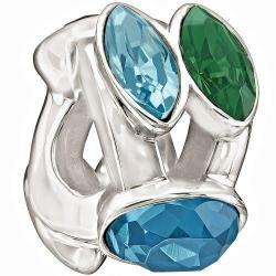 Splendid Marquis Charm, Green & Blue - 2083-0460