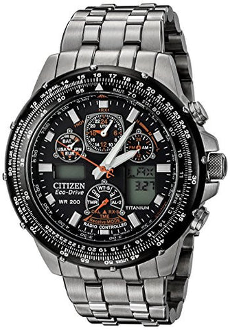 "Citizen Men's JY0010-50E Eco-Drive ""Skyhawk A-T"" Titanium Watch"