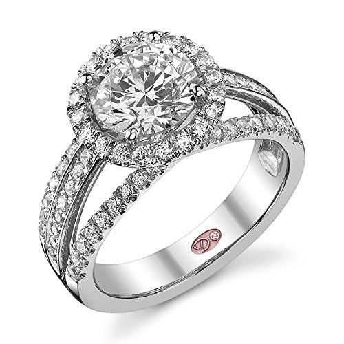 Demarco Eternal Devotion Collection DW5379 18 Kt White Gold Ring w/ 0.86 Carats of Diamonds