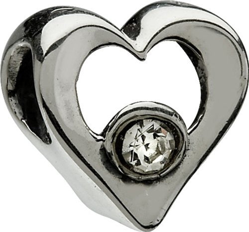 Jeweled Heart, Clear - JA-14