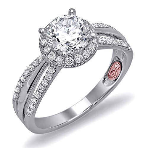 Demarco Eternal Devotion Collection DW6065 18 Kt White Gold Ring w/ 0.35 Carats of Diamonds