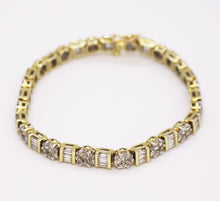 Load image into Gallery viewer, Diamond Tennis Style Bracelet