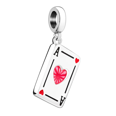 Ace of Hearts Charm - 2020-0851