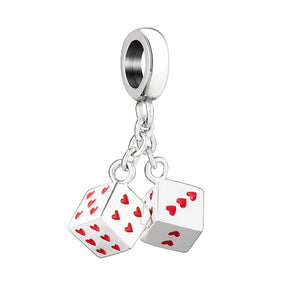 Roll The Dice Charm - 2020-0852