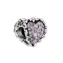 Load image into Gallery viewer, Ruffled Heart Charm - 2025-2175